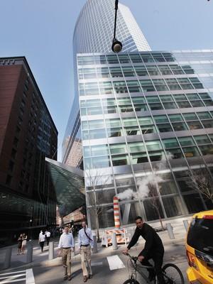 Sede do banco Goldman Sachs em Nova York (Foto: Getty Images)