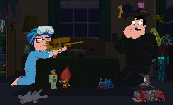 Stan tenta tirar os brinquedos de Steve, mas fracassa (Foto: Divulgação / Twentieth Century Fox)