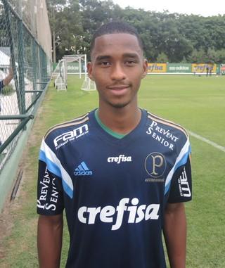 Matheus Sales Palmeiras (Foto: Felipe Zito)