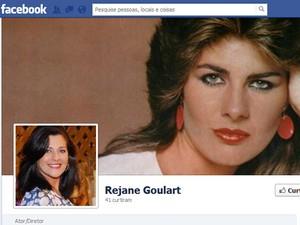 Rejane Goulart, ex-miss Brasil (Foto: Reprodução / Facebook)