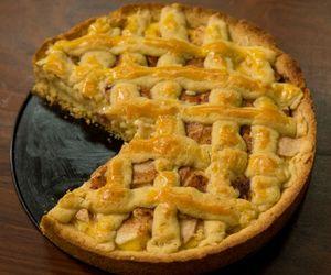 Torta de maçã do Tempero de Família