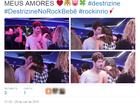 Fãs comentam novo beijo de Bruna Marquezine e Maurício Destri na web