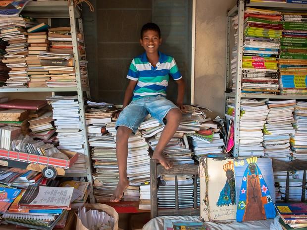 Jefferson Gabriel da Silva Melo, de 12 anos (Foto: Maria Anffe/GcomMT)