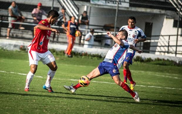 Sergipe mandou jogo em Arapiraca (Foto: Filippe Araújo/FSF)