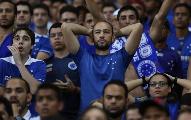 Torcida Cruzeiro x Defensor (Foto: Cristiane Mattos)