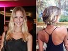 Fernanda de Freitas muda o visual e aparece com cabelos curtíssimos