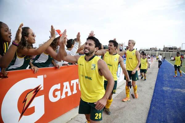 Time masculino derrotou a Venezuela por 1 a 0 em jogo duro para conquistar o título Pan-American Challenge  (Foto: Federação Pan-Americana de Hóquei (PAHF).)
