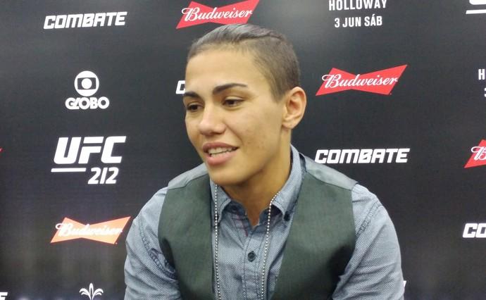 Jessica Andrade Bate-Estaca UFC Rio 8 (Foto: Raphael Marinho)