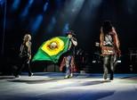 Guns N' Roses toca com Axl, Slash e Duff juntos pela 1ª vez em Brasília