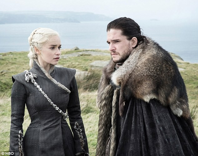 Emilia Clarke e Kit Harrington (Foto: Reprodução/HBO)