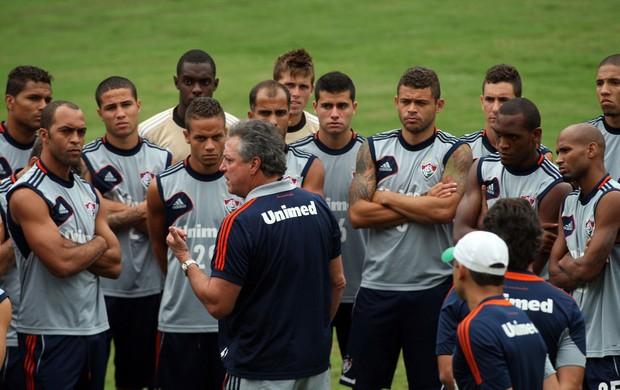 Abel Braga treino Fluminense (Foto: Photocâmera)
