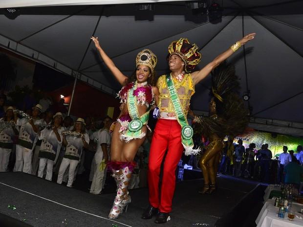 Rainha do Carnaval e Rei Momo foram eleitos (Foto: Michel Alvim/ Prefeitura de Cuiabá)