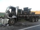 Colisão entre caminhões deixa vítimas na Castello Branco em Itu, SP