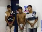 Polícia prende três suspeitos por tráfico de drogas em Maceió