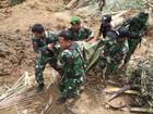 Deslizamentos de terra deixam 11 mortos na Indonésia