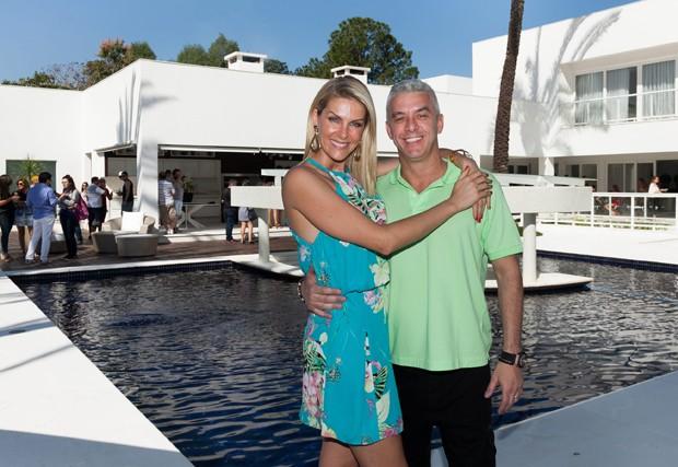 Ana Hickmann e o marido, Alexandre (Foto: Ed. Globo)