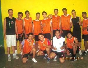 Equipe de Voleibol da Escola Ana Libória (Foto: Divulgação)