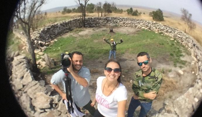 Equipe do Tô Indo no Curral das Pedras na Serra da Canastra (Foto: Divulgação | Tô Indo)