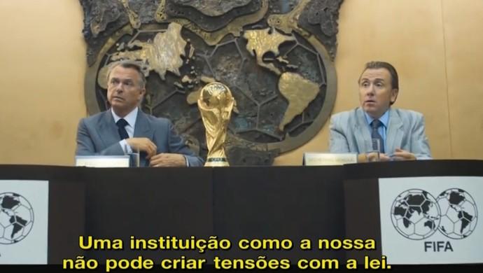 Paixões Unidas filme Fifa Redação SporTV (Foto: Reprodução SporTV)