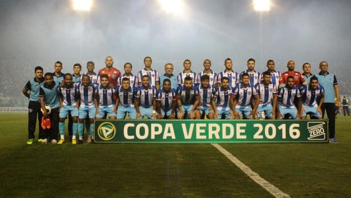 Paysandu conquistou o título da Copa Verde em 2016 (Foto: Facebook oficial do Paysandu)