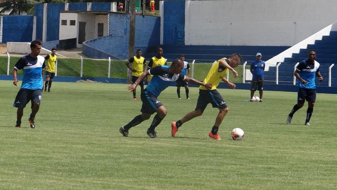 CSA, treino (Foto: Leonardo Freire/GloboEsporte.com)