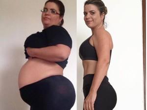 Antes e depois da blogueira  (Foto: Reprodução Redes Sociais)