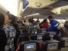 'Volta foi tranquila', diz pernambucano que ficou 6h dentro de avião nos EUA