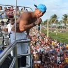 Edcity arrasta multidão em carnaval (Marina Fontenele/G1)