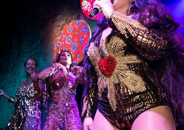 As atrações do baile da vogue 2018 (Foto: Ricardo Toscani)