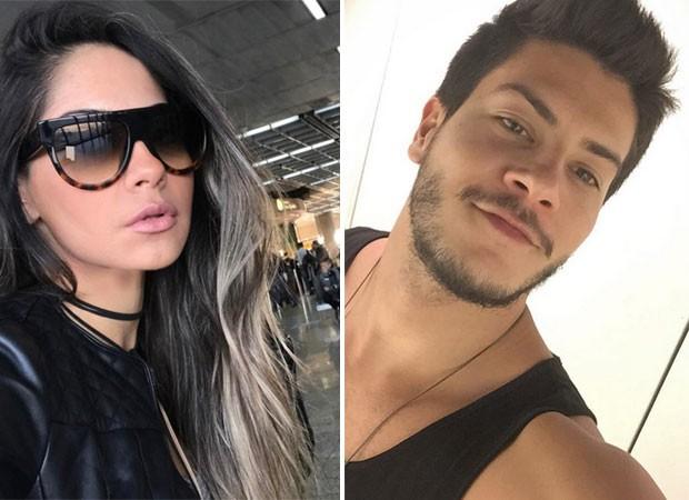 Mayra Cardi e Arthur Aguiar estão namorando (Foto: Reprodução)