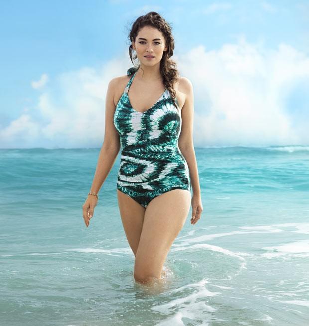 A modelo americana Jennie Runk (Foto: Cortesia H&M)