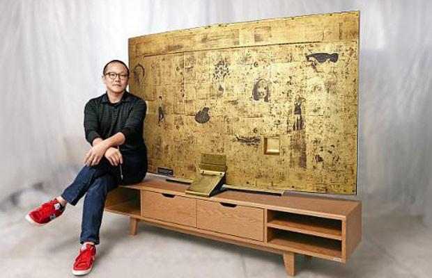 G1 samsung cria tv 4k com tela curva de 78 polegadas e for Tv 75 pollici prezzo