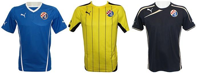 Camisas Champions dinamo zagreb