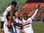 Botafogo-SP ignora Canindé, goleia Lusa e se mantém no topo da chave