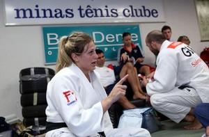Judoca do Reino Unido, Gemma Gibbons (Foto: Divulgação/ Minas Tênis Clube)