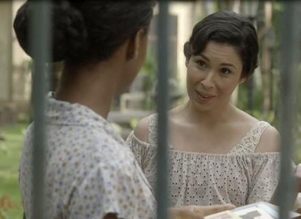 Lucinda dá a ordem e Leonor põe as garras de fora em 'Tempo de Amar'