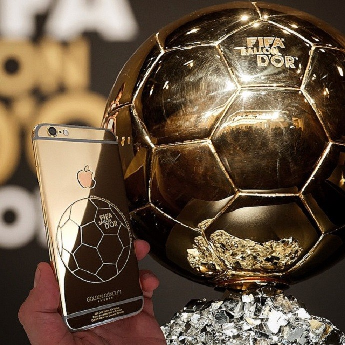 Celular de ouro Cristiano Ronaldo