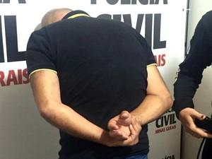 Padrasto é preso suspeito de manter enteada em cárcere privado em Juiz de Fora (Foto: Marina Proton/G1)