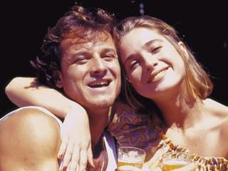 Marcello Novaes e Letícia Spiller em Quatro por Quatro (Foto: CEDOC/TV Globo)