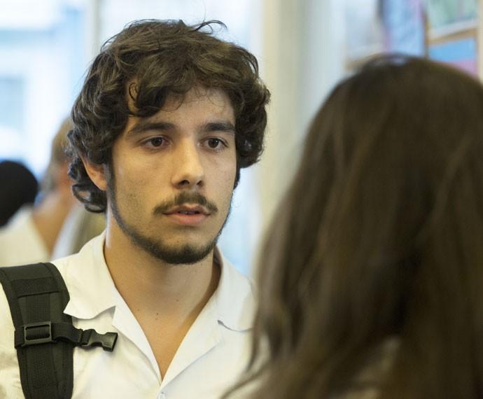 Luan descobre que Ciça pode ficar sem andar (Foto: Felipe Monteiro / Gshow)