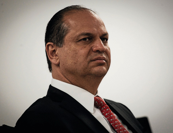O ministro da Saúde,Ricardo Barros (Foto:  Aloisio Mauricio / Fotoarena / Agência O Globo)