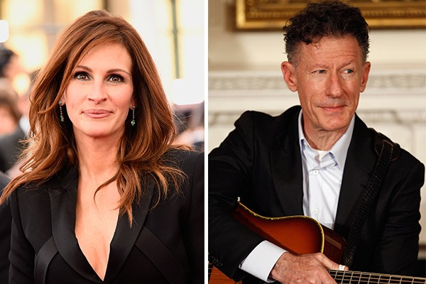 Julia Roberts e Lyle Lovett (Foto: Getty Images)
