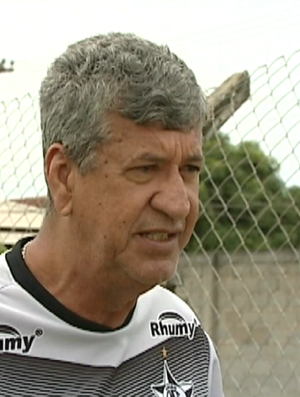 Dário Lourenço, técnico do Estrela do Norte (Foto: Reprodução/TV Gazeta Sul)