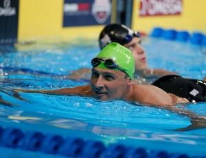 Ryan Lochte nadou com tranquilidade os 200m medley na seletiva americana (Foto: Getty Images)