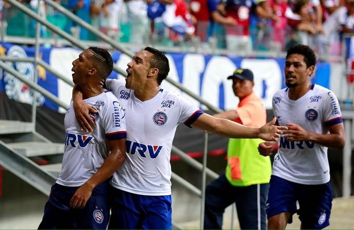Danilo Pires comemora gol do Bahia (Foto: Felipe Oliveira / divulgação / EC Bahia)