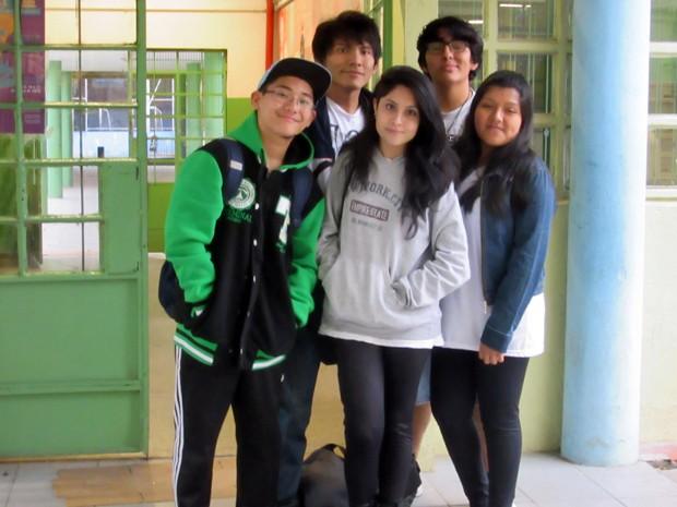 Cerca de 30% da escola Canuto do Val não nasceram no Brasil (Foto: Gabriela Gonçalves/G1)