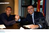 Até 2021: Barça formaliza renovação de Neymar por mais três temporadas