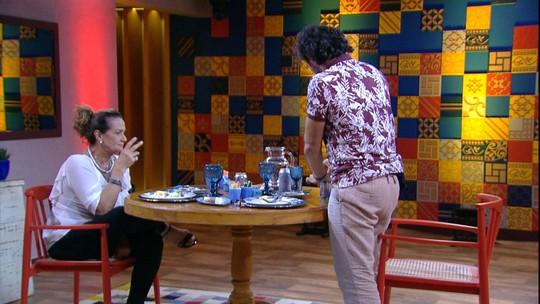 Ieda e Rômulo comentam relacionamento de Vivian e Manoel