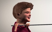 Dilma salta com vara