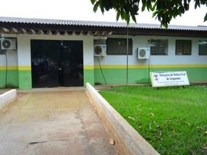 polícia civil de ariquemes (Foto: Franciele do Vale/G1)